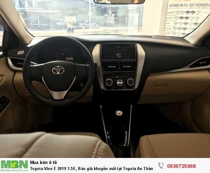 Toyota Vios 2019 1.5E, 6