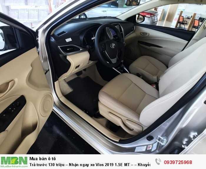 Trả trước 130 triệu – Nhận ngay xe Vios 2019 1.5E MT – – Khuyến mãi giá tốt từ Toyota An Thành - Đủ màu – Giao Ngay 4