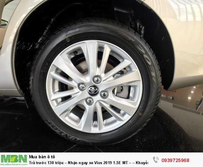 Trả trước 130 triệu – Nhận ngay xe Vios 2019 1.5E MT – – Khuyến mãi giá tốt từ Toyota An Thành - Đủ màu – Giao Ngay 7