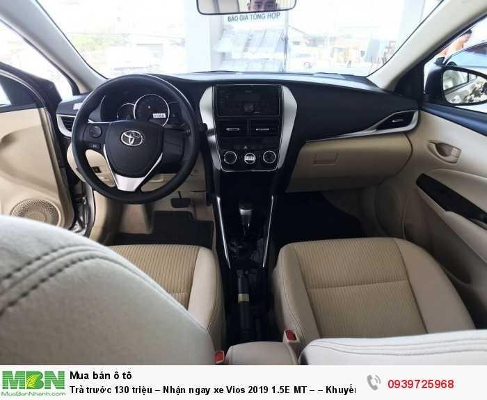 Trả trước 130 triệu – Nhận ngay xe Vios 2019 1.5E MT – – Khuyến mãi giá tốt từ Toyota An Thành - Đủ màu – Giao Ngay 8