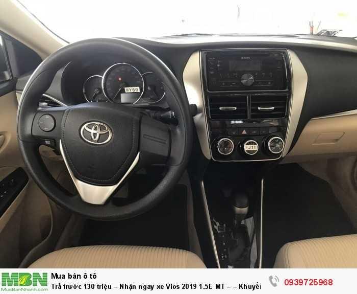 Trả trước 130 triệu – Nhận ngay xe Vios 2019 1.5E MT – – Khuyến mãi giá tốt từ Toyota An Thành - Đủ màu – Giao Ngay 12