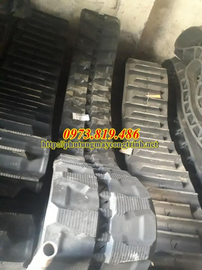 Xích cao su máy xúc pc50uu-2e