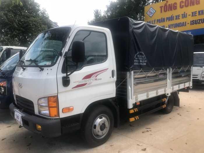 Khuyến mãi mua xe tải Hyundai N250 2.5 Tấn, trả trước 100 triệu. Giao xe ngay - Gọi 0913553798 (24/24)
