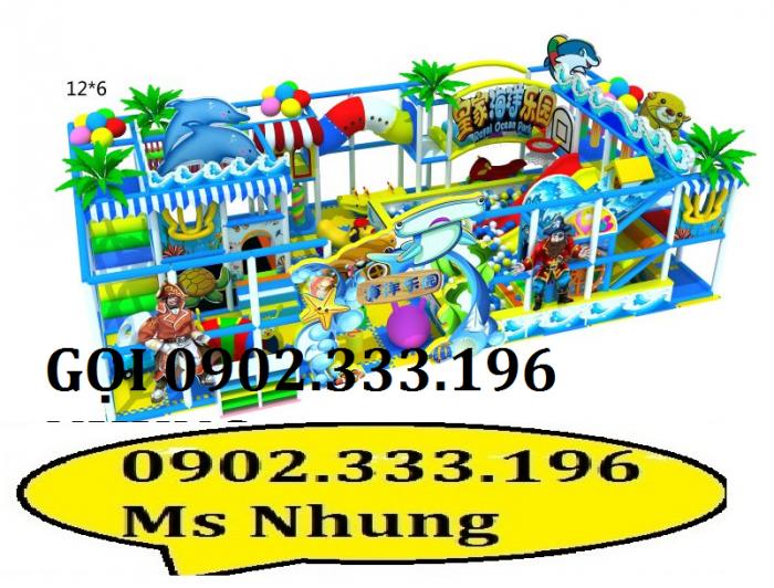 Khu liên hoàn trong nhà nhập khẩu, khu vui chơi liên hoàn3