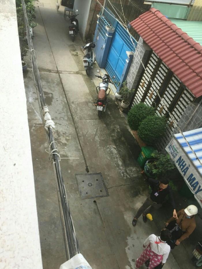 Bán nhà 1 trệt 3 lầu, 3pn, 3wc, phường Bình Hưng Hòa
