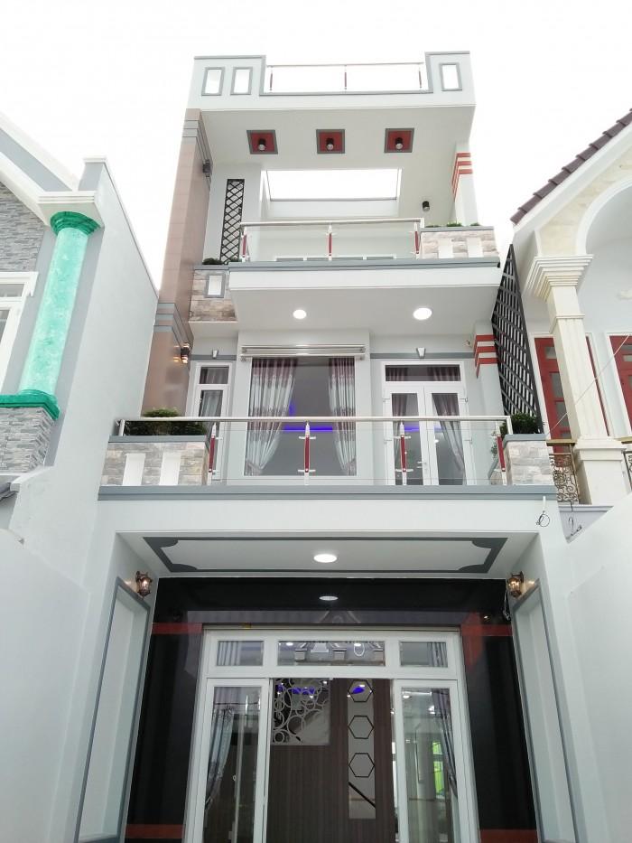 Bán nhà hẻm 6m Phạm Phú Thứ, Tân Bình, DT: 4.5x19m, 2 lầu