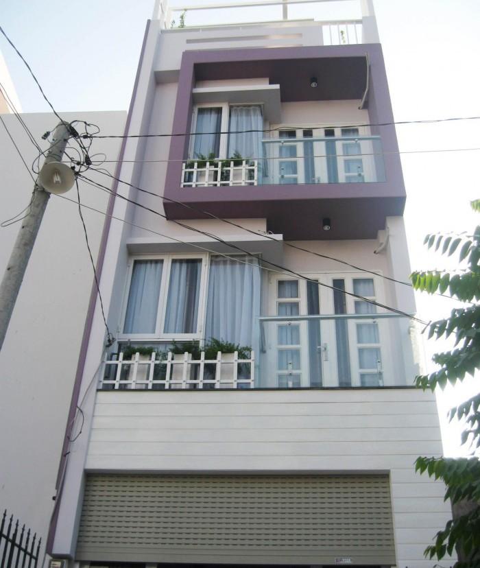 Bán nhà HXH Phạm Phú Thứ, P11, Tân Bình, 4,4x18,5m, 2 lầu, ST mới đẹp