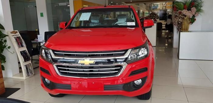 Xe bán tải Chevrolet Colorado 2018, 1 cầu, số tự động giá rẻ nhất Thanh Hóa tặng Bảo hiểm + Phụ kiện. LH mua xe trả góp toàn quốc