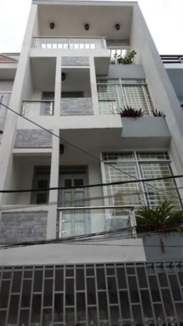 Bán nhà HXT Bạch Đằng , P2, Tân Bình. 1 trệt +2 lầu. DT: 4*17m.