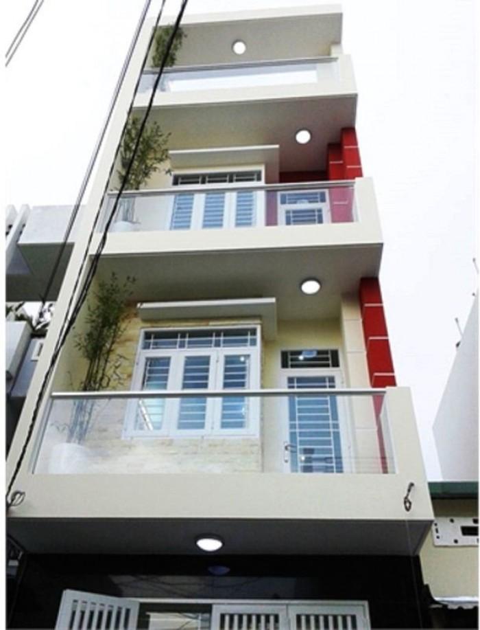 Xuất Cảnh BÁN GẤP!! Nhà 4.2x18m đường Nguyễn Cảnh Dị ,P. 4 , Q.TB