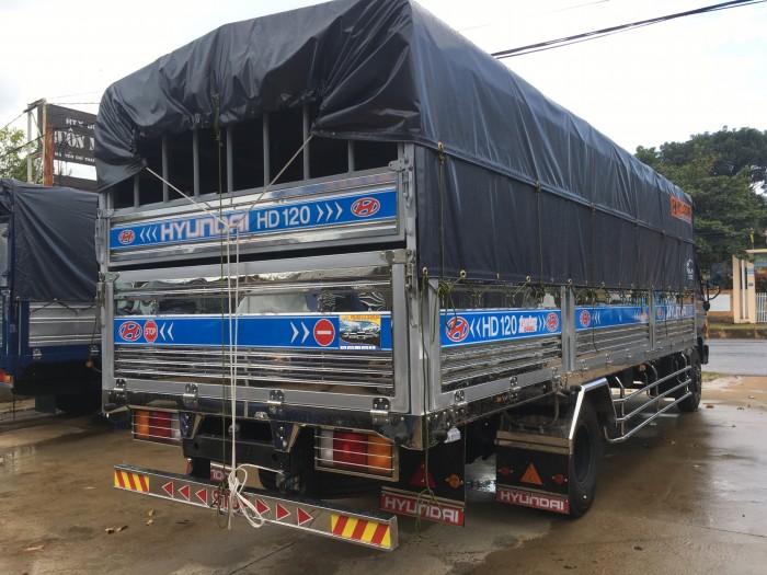 Xe tải Hyundai HD120SL 8 tấn giá siêu rẻ thùng siêu dài 6,3 met