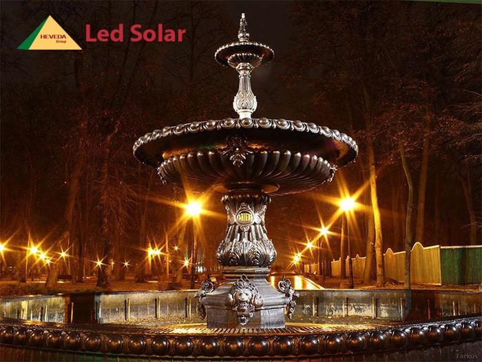Đèn cảm ứng năng lượng mặt trời - sang trọng, đẳng cấp6