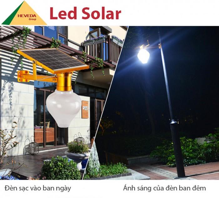 Đèn cảm ứng năng lượng mặt trời - sang trọng, đẳng cấp0