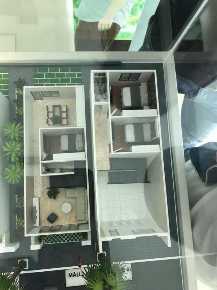 Nhà hoàn thiện giá rẻ - nhà phố Ecohome Mỹ Phước 3, ngân hàng cho vay 70% trong 15 năm.