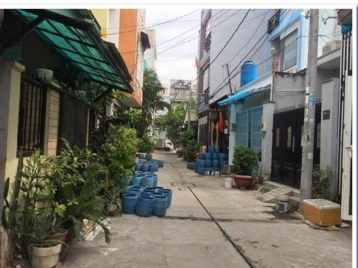 Kẹt vốn bán nhà HXH đường Miếu Gò Xoài, DT 5m x 14m, 2 tầng