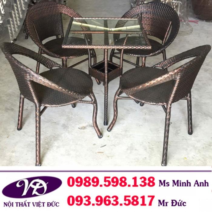 Bàn ghế cafe giá rẻ VĐ 27