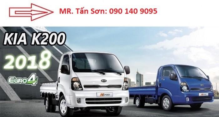 Kia K200 nhập khẩu Hàn Quốc. Trả góp qua ngân hàng, xe có sẵn shownroom