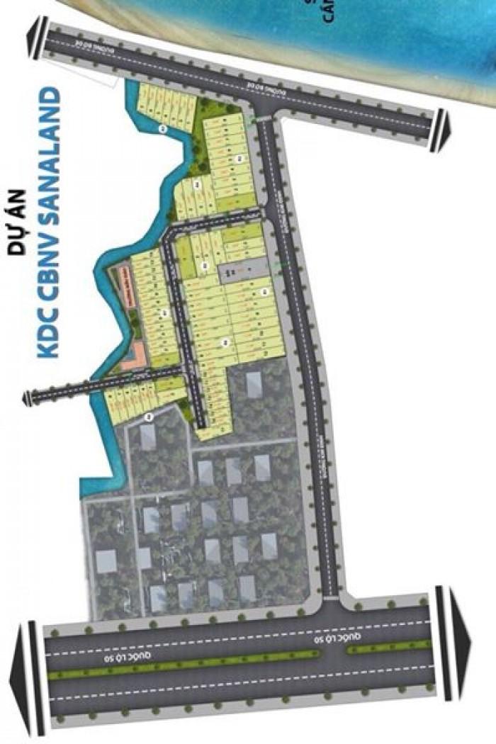 Bán đất nền dự án tại Đường Kim Định - Huyện Cần Giuộc - Long An