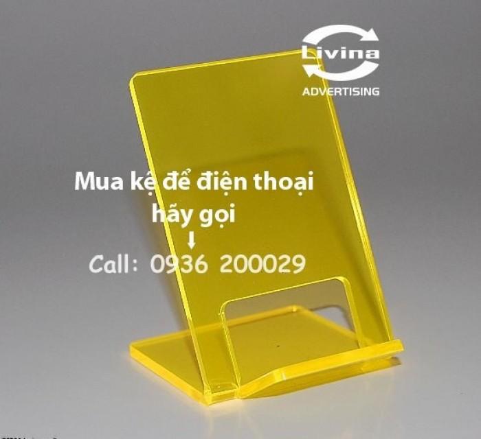 Kệ đựng điện thoại-Kệ trưng bày mica tại quận Thanh Xuân5
