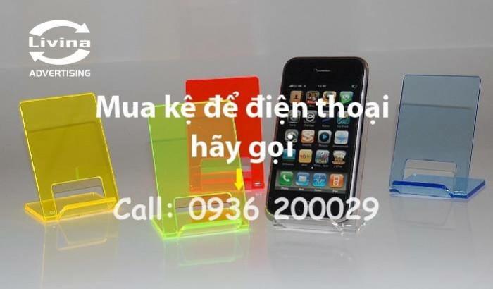 Kệ đựng điện thoại-Kệ trưng bày mica tại quận Thanh Xuân15
