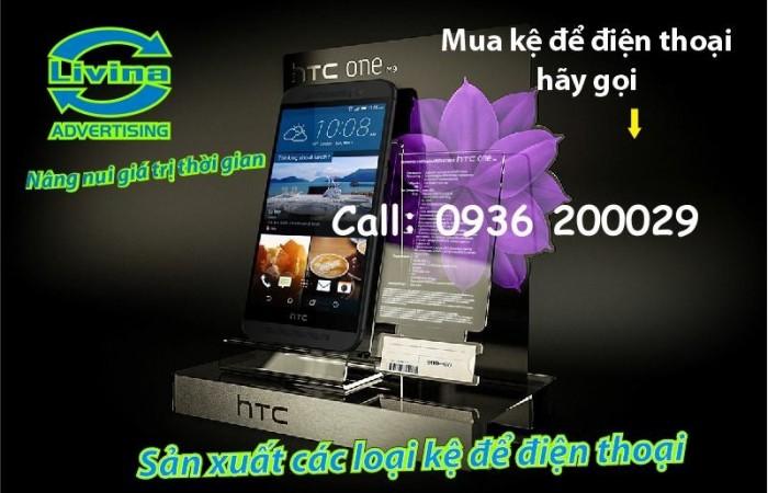 Kệ đựng điện thoại-Kệ trưng bày mica tại quận Thanh Xuân13