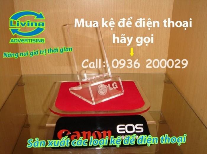 Kệ đựng điện thoại-Kệ trưng bày mica tại quận Thanh Xuân10