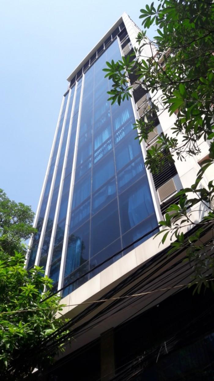 Bán nhà mặt phố Nguyễn Thiệp Ba Đình sổ đỏ 82m2 xây 9 tầng mặt tiền 4m