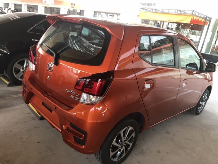 Toyota wigo 1.2 số sàn màu cam