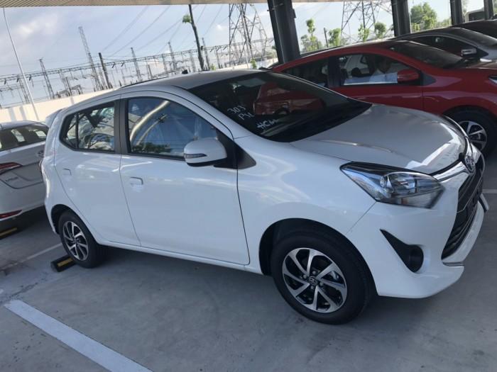 Toyota wigo 1.2mt số sàn màu trắng giao ngay