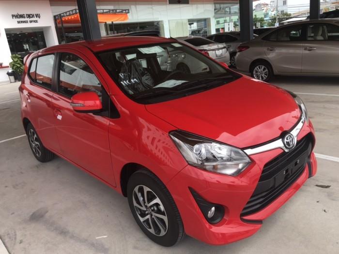 Toyota wigo 1.2 mt số sàn màu đỏ nhập khẩu 4