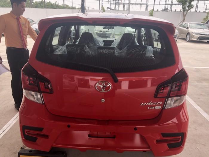 Toyota wigo 1.2 mt số sàn màu đỏ nhập khẩu 3