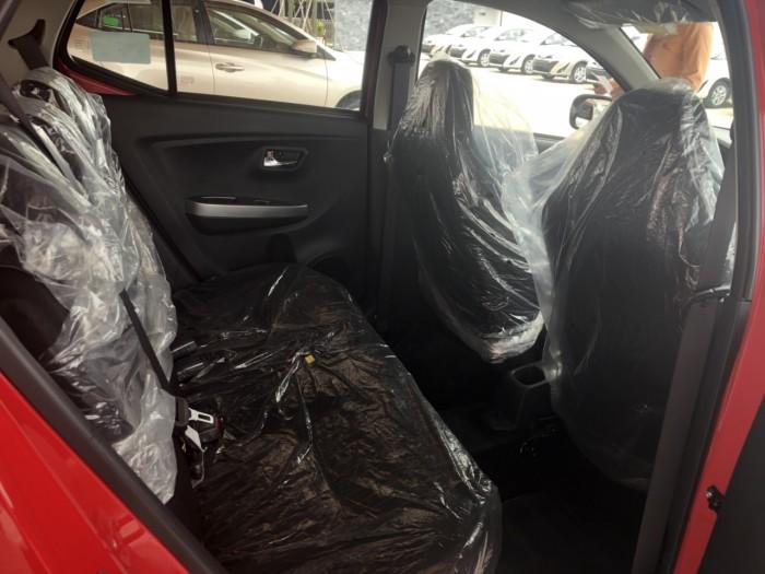 Toyota wigo 1.2 mt số sàn màu đỏ nhập khẩu 2