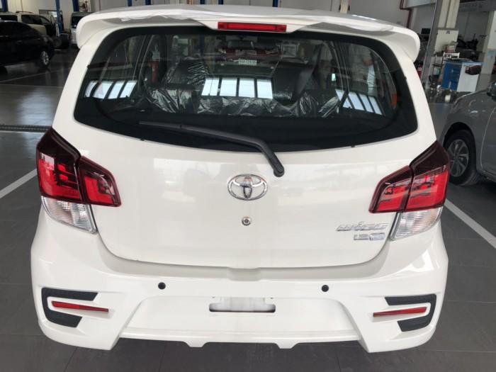 Toyota wigo 1.2at màu trắng nhập khẩu 2019
