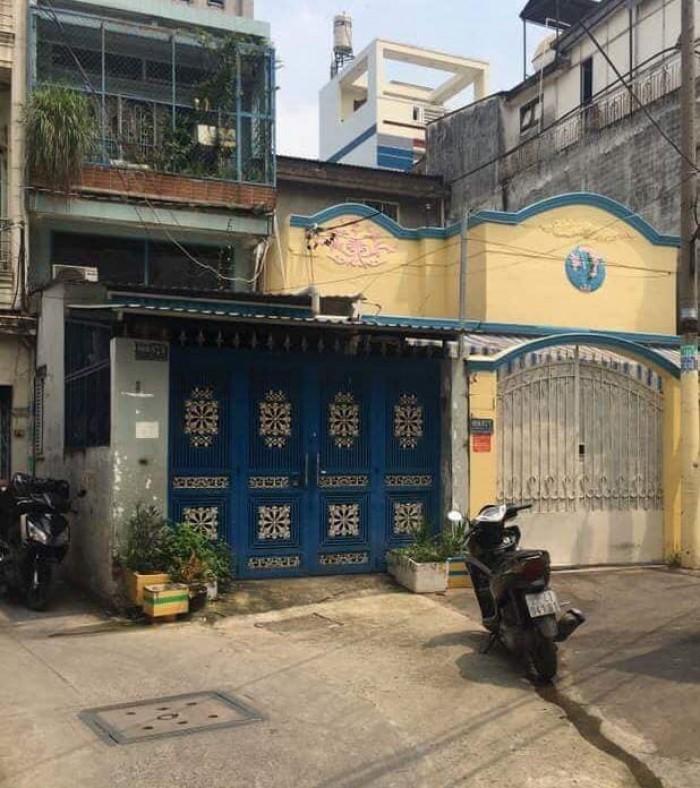 Nhà Lạc Long Quân 69m2 phường 8,Tân Bình, chỉ 6.8 tỷ, chưa qua đầu tư