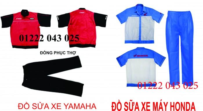 dong phuc yamaha  dong phuc sua xe  đồng phục kỹ thuật trưởng của yamaha  áo sửa xe máy  đồng phục nhân viên honda  đồng phục honda