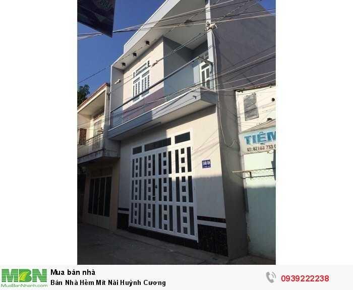 Bán Nhà Hẻm Mít Nài Huỳnh Cương