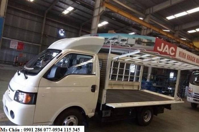 Bán xe jac 1.5 tấn, JAC X-150/ thùng lững, thùng bạt ,thùng kín+giá cạnh tranh + trả góp 80%