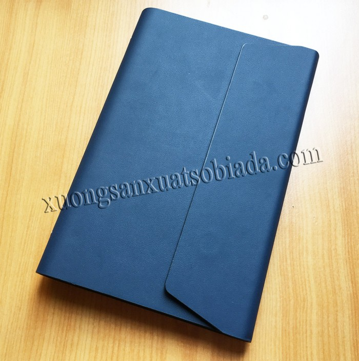 Xưởng sản xuất sổ bìa da giá rẻ, sổ còng, sổ may chỉ dán gáy, sổ lò xo6