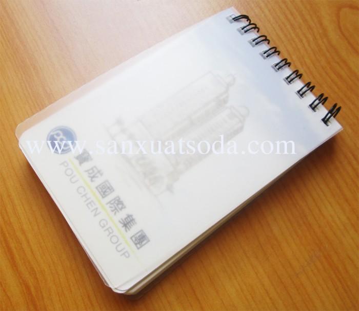 Xưởng sản xuất sổ bìa da giá rẻ, sổ còng, sổ may chỉ dán gáy, sổ lò xo5