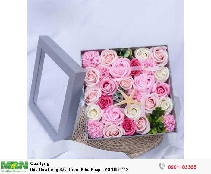 Hoa sáp thơm hay còn gọi là sáp thơm vĩnh cữu là sản phẩm được tạo hình đẹp mắt và sống động cùng hương thơm quyến rũ, là quà tặng thú vị mà bạn có thể lựa chọn để dành cho người mà mình yêu quý.2