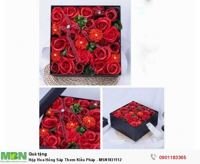 Với màu sắc tự nhiên, đẹp mắt, được tạo hình khéo léo từ sáp, có thể lưu được hương thơm từ 2 - 3 năm, hoa hồng sáp trái tim sẽ giúp bạn gửi gắm những thông điệp đến yêu thương đến người nhận.3