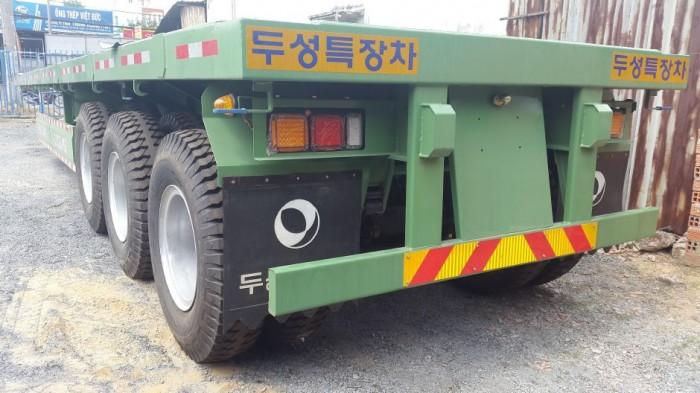 Mooc Sàn phẳng tải(chở container),3 trục,40 feet,32 tấn,giá GỐC,giao ngay.