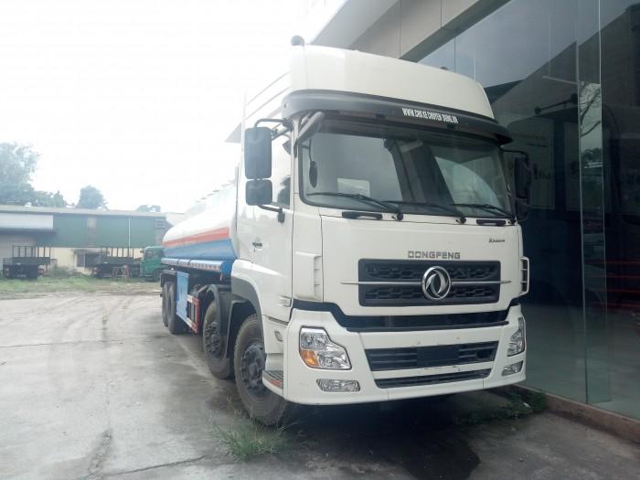 Xe chở xăng dầu Dongfeng 26 khối 5 chân
