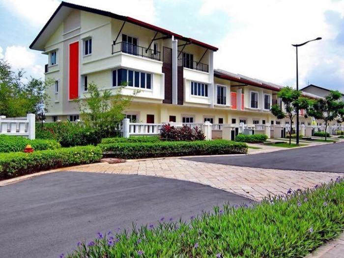 Mở bán giai đoạn II - 54 căn Nhà Phố Liền Kề EcoLakes Mỹ Phước, Bến Cát. Ngân hàng hỗ trợ tối đa 70%