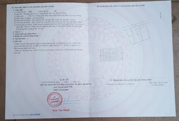 Chi tiết giấy tờ nhà đất