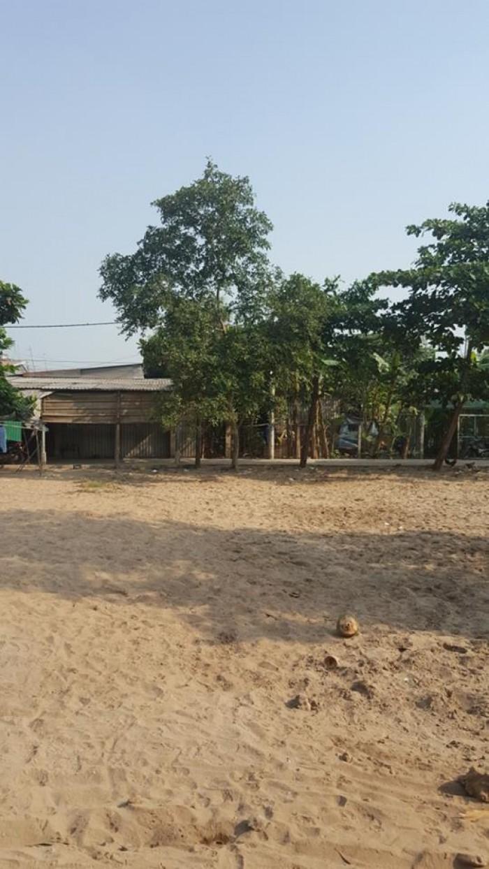 Bán nhà đất Phường Tân Tạo A, Quận Bình Tân - Diện tích 192,7m2, sổ đỏ riêng, hẻm ô tô