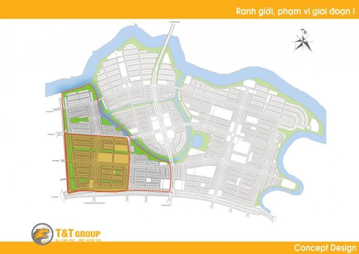 Bán đất nền T&T ngay KCN Long Hậu giá chỉ từ 9 triệu/m2.