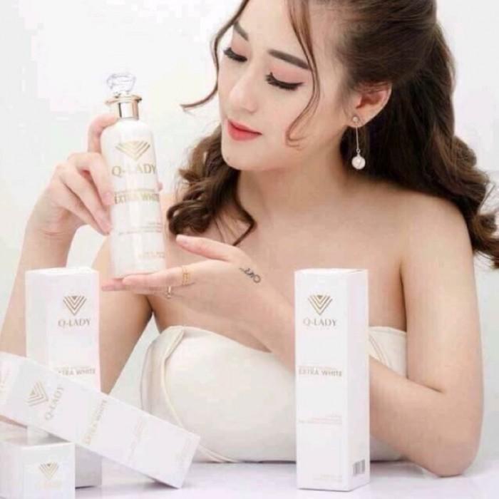 Tinh chất sữa non trắng da: Giảm sắc tố đen, bổ sung vitamin, acid amin giúp dưỡng trắng và làm mền mịn da.