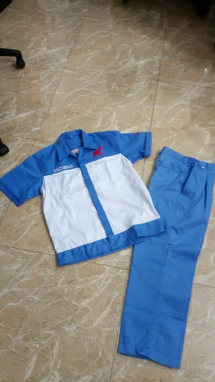 đồng phục thợ + đồng phục kỹ thuật trưởng honda giá 145,000  - đồng phục...