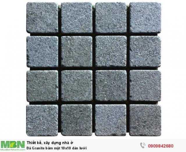 Đá Granite băm mặt 10x10 dán lưới, 400x400x18mm1